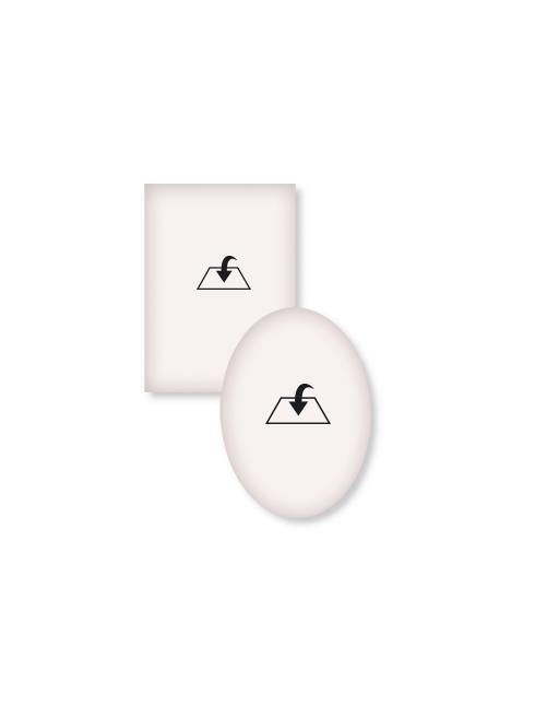 Magnete con diplomino in carta pergamena per personalizzazione