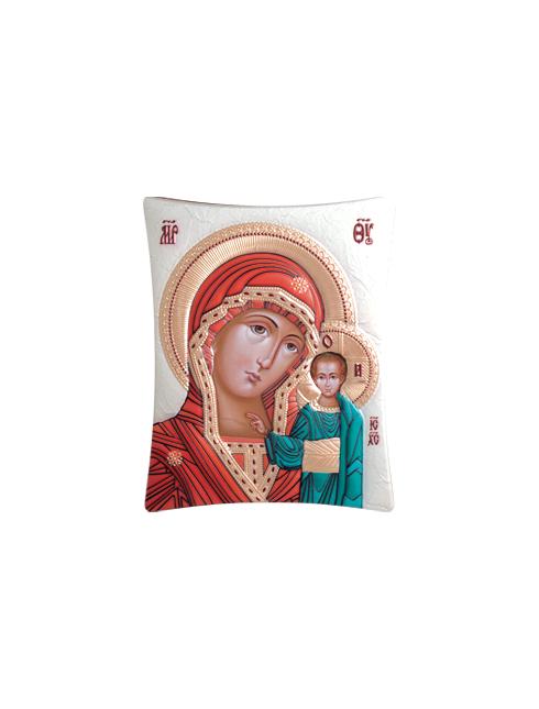 Icone ortodosse in legno e argento PUD 16x20 cm