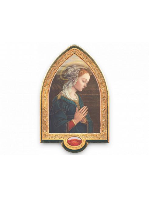 Cornice gotica in foglia oro