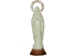 Statue in polimero fosforescente 30 cm con carillon