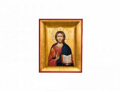 Quadretto Icona con oro foglia