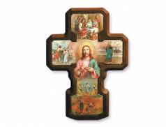Croce in polimero Misteri della Luce