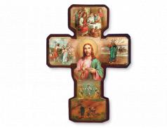 Croce in legno Misteri della Luce