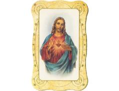 Immagini sacre da collezione con preghiera sul retro