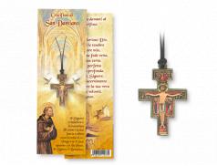 Confezione con Croce San Damiano da collo