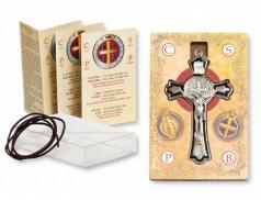 Confezione con Croce S. Benedetto