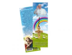 Croce Buon Pastore in Legno Ulivo