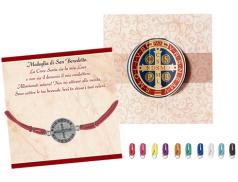 Bracciale San Benedetto con medaglia