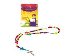 Confezione con corona colorata effetto FLUO