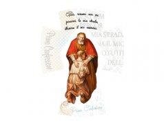 Croce in legno - Linea White Chic effetto dipinto