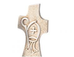 Croce sacramenti in resina