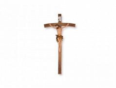 Croce in resina dipinta a mano