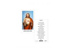 Immagine Sacra con preghiera sul retro