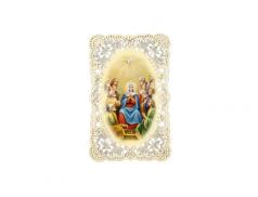 Immagine sacra ricamata da collezione
