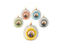 Lampada ad olio per uso liturgico 12 cm