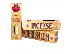 Incenso profumato di Jerusalem Confezione da 35 gr. con confezione carboncini da 10 pz.