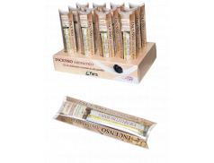 12 Confezioni incenso profumato Olibano Greco 25 gr. + Confezione carboncini da 10 pz.