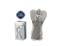 Angeli in resina argentato