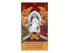 Cartoncino per la Benedizione della casa con oro a caldo