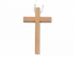 Croce in legno con laccio