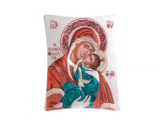 Icone ortodosse in legno e argento PUD 20,6x25,5 cm