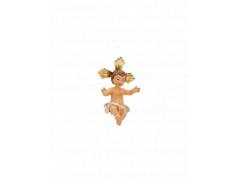 Bambino benedicente in resina