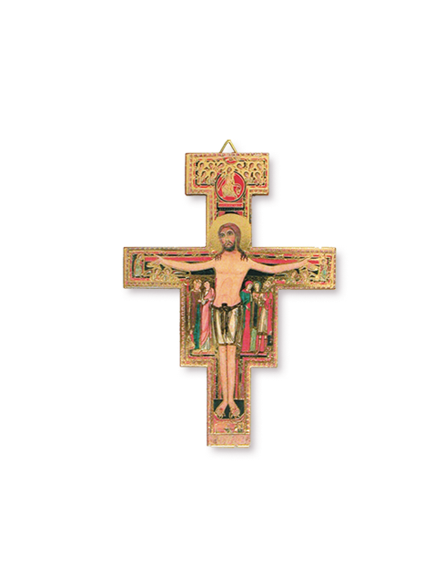 Croce San Damiano 12 cm