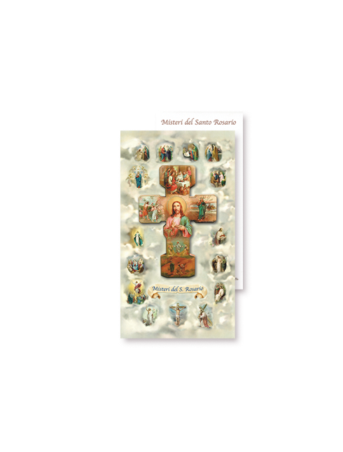 Cartoncino Misteri del Santo Rosario