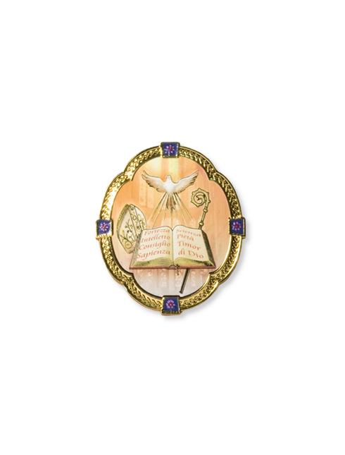 Quadretto con cornice dorata