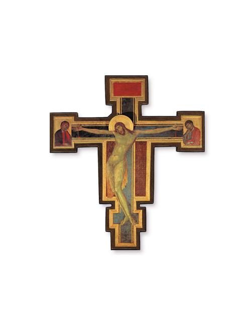 Crocifisso Giotto in legno
