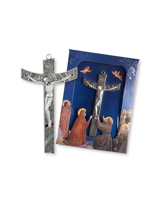 Confezione con croce in metallo