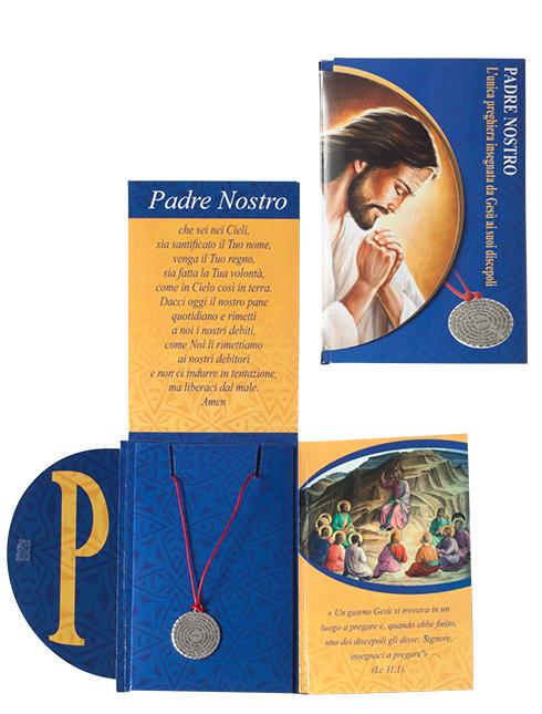 """Collana con preghiera """"Padre Nostro"""""""