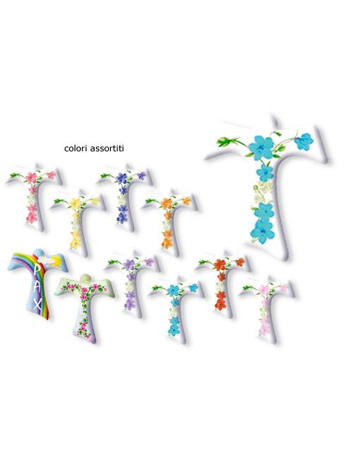 Serie da collo con decorazioni a stampa modello Tau