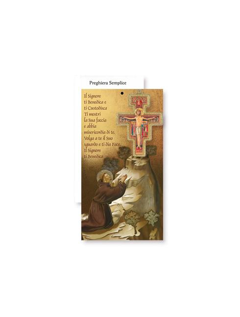 Croce San Damiano 8 cm