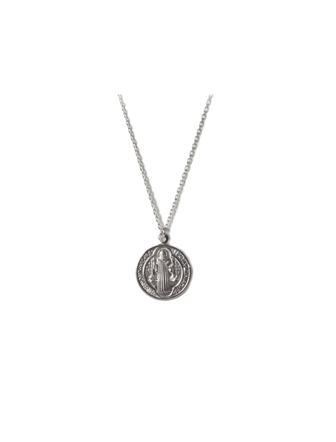 Ciondolo in argento 925 San Benedetto