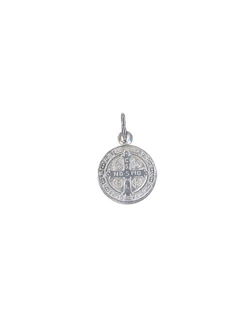 """Medaglia in argento 925 """"San Benedetto"""""""