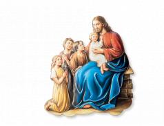 Quadretto Prima Confessione con dettagli in oro a caldo