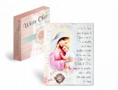 Linea White Chic - Quadretto in legno